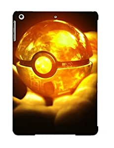 lintao diy Ellent Design Glowing Pokeball Case Cover For Ipad Air For New Year's Day's Gift