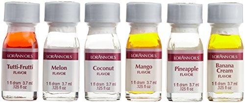 Lorann Oils Lebensmittel Aromen Set - Exotic Tastiness, 1er Pack (1 x 22 g)