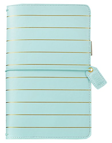 Webster's Pages Blue Gold Stripe Travelers Notebook (TJ001-IB)