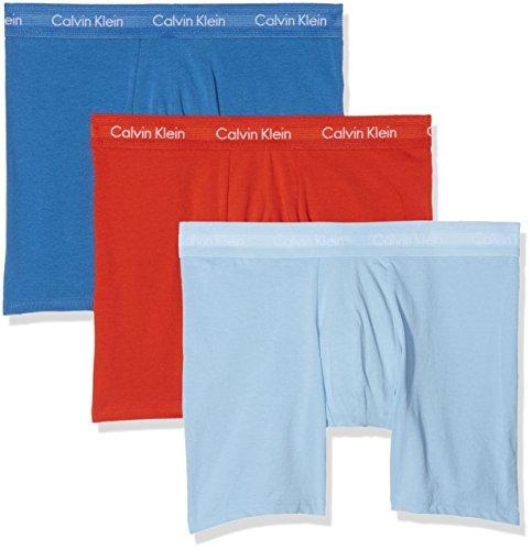Wht Calvin Boxer L 3 Multicolore Uomo oriole W Lakefront Blue Da R Klein Ytp pacco 7q7aC