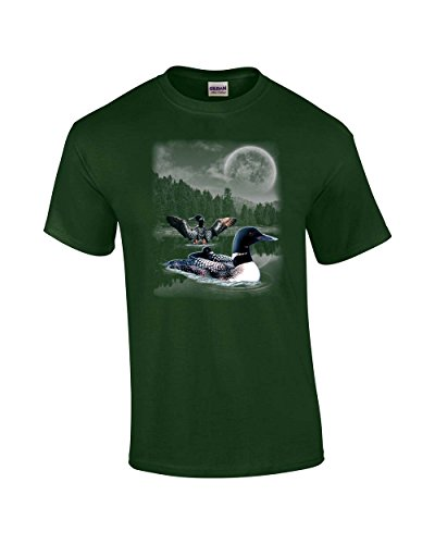 (Trenz Shirt Company Loon in The Wilderness Adult)