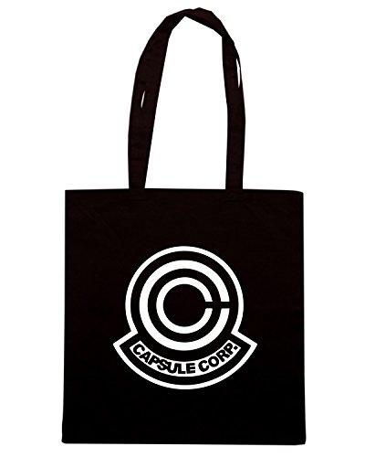 T-Shirtshock - Bolsa para la compra TR0033 Capsule Corporation Negro