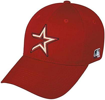 c11f2282f Amazon.com   OC Sports Houston Astros MLB Throwback Retro Hat Cap Red Gold  Star Adult Men s Adjustable   Sports   Outdoors