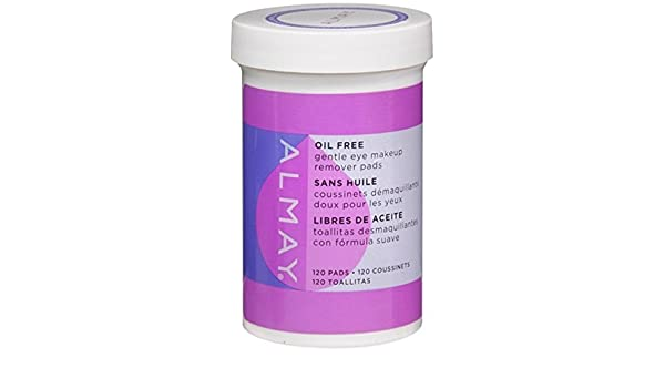 Amazon.com : Almay Eye Makeup Remover Pads, Oil-Free 120 ea by Almay : Beauty