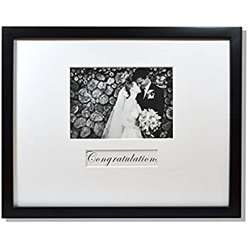 Amazon Com Americanflat 14x14 Wedding Signature Picture Frame Display Pictures 5x7