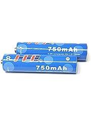NiMH HFE 750 mAH, set van 2 stuks, geschikt voor Gigaset handsets
