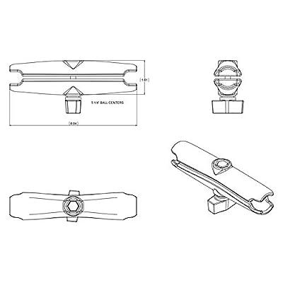 RAM Double Socket Arm: Automotive