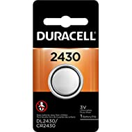 Duracell - 2430 3V Lithium Coin Battery - long lasting battery , 1 count