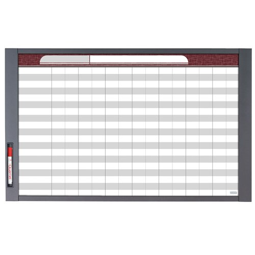 Quartet Inview Custom Whiteboard, 37.5 x 23 Inches.5 Inch Graphite Frame (72982)
