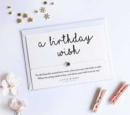 Pulsera con abalorio de «A Birthday Wish Friend» con sobre ...