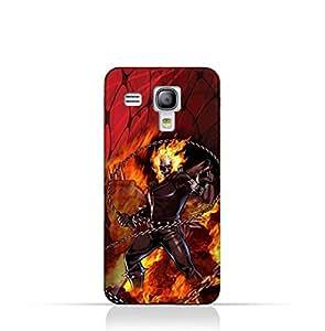 Samsung Galaxy S3 Mini TPU Protective Silicone Case With Ghost Rider Design