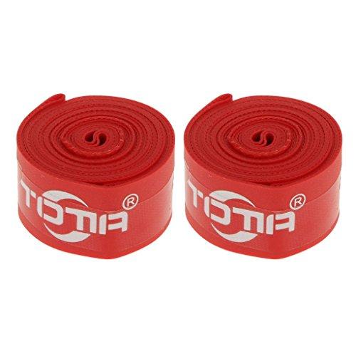 """Jili Online 2pcs 26"""" High Pressure Bike Bicycle Rim Tape Inner Tube Protector Strip Band"""