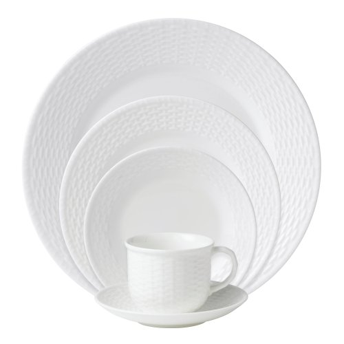 Wedgwood Nantucket Basket 5-Piece Place Setting, Service for 1 (Weave Plate)