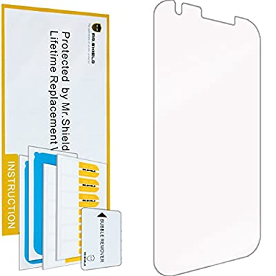 Mr Shield For ZTE Grand X3 Z959 [Tempered Glass] Screen Protector [0.3mm Ultra Thin 9H Hardness 2.5D Round Edge] with Lifetime Replacement Warranty from Mr Shield