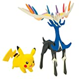 Pokemon  Xerneas and Pikachu Action Figure, 2-Pack