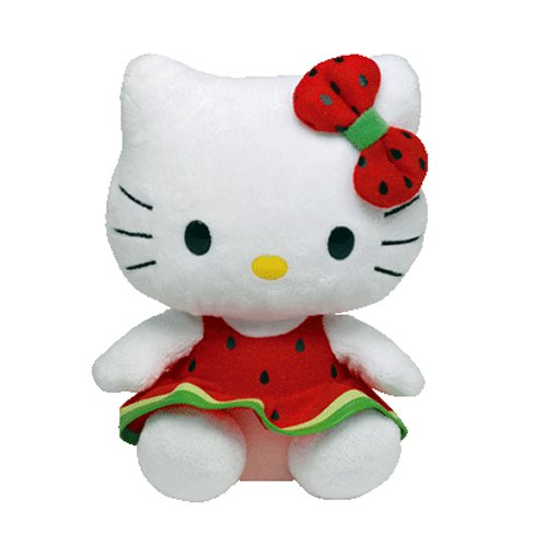 (Ty Beanie Baby Hello Kitty Watermelon )