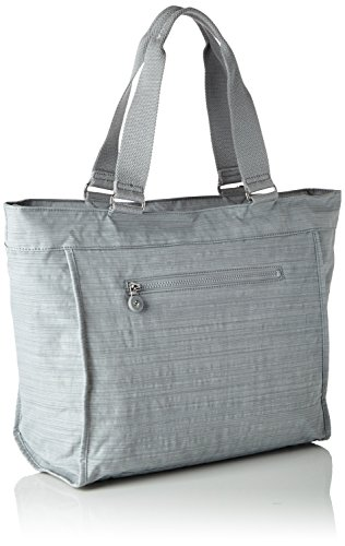 L Gris Shopper Kipling New Dazz Cabas Grey 6IWEw