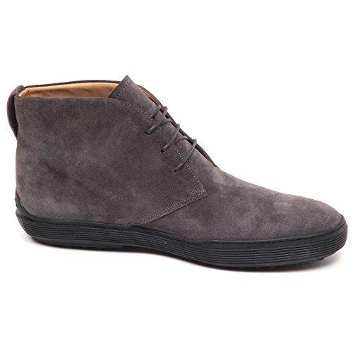 Boot Scarpe Uomo Man Tod's Scuro Grigio Grey Shoe Polacchino E3026 wxqOBHX1