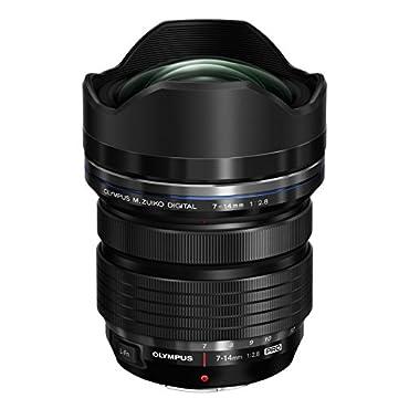 Olympus M.Zuiko Digital ED 7-14mm f/2.8 PRO Lens for Micro Four Thirds Cameras