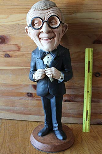 "Esco Statue GEORGE BURNS w/cigar Chalkware Figure Figurine 18"" For Vintage 1995"