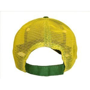 Green & Yellow Mesh John Deere Adjustable Baseball Cap Hat