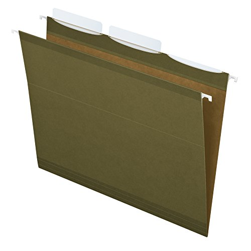 Esselte Ready-Tab Reinforced Hanging File Folders, Letter...