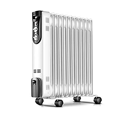 Heater/bathroom Waterproof Heater 3S Rapid Heating 11 Pieces Of Oil Heating And Humidification One Overheat Protection Dumping Power Failure