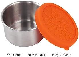 b8efdb2c26df kilofly 3-Piece BPA Free Leak Proof Reusable Round Eco to Go ...
