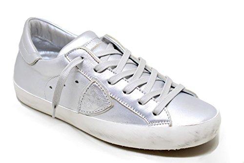 Modello Pelle Logo Clld In Sneaker Model 1009 E Esterno Philippe Lato Paris Suola Su Gomma qwXEaY