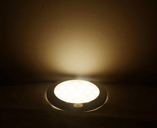 Plafoniere Per Camper 12 Volt : Dream lighting plafoniera a led da v cm con interruttore