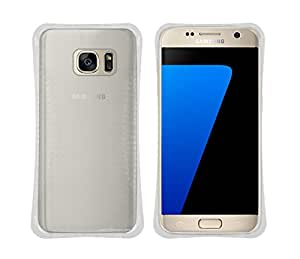 Gadget Giant Samsung Galaxy S6Executive calidad TPU transparente a prueba de golpes Bumper cojín Gel Case Skin Cover Funda con 3regalos Gratis-Protector de pantalla-lápiz capacitivo-One Touch función atril