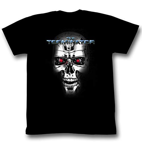 The Terminator T-800 Skull T-shirt - S to 6XL