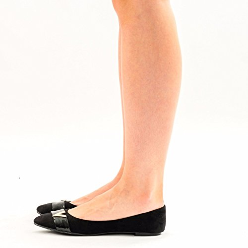 SnobUK - Ballet mujer negro