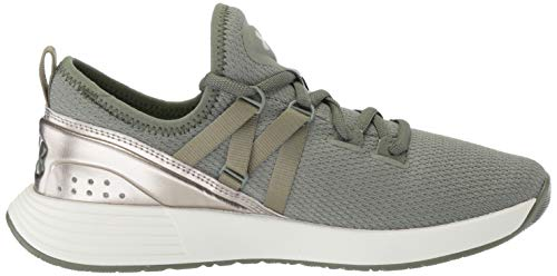 moss Mujer Gold metallic Ua W Breathe Green Faded Verde De Zapatillas Para Under Deporte Armour Trainer zZPaxa