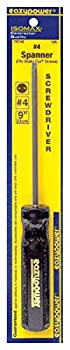 Eazypower 79740 1-pack #4 Spanner Security Isomax 9-inch Screwdriver (Fits Snake Eye Screw) 0