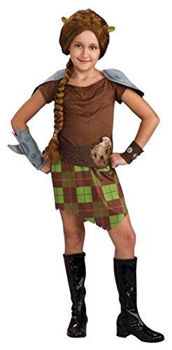 [Princess Fiona Warrior Costume - Large] (Girls Princess Fiona Costumes)