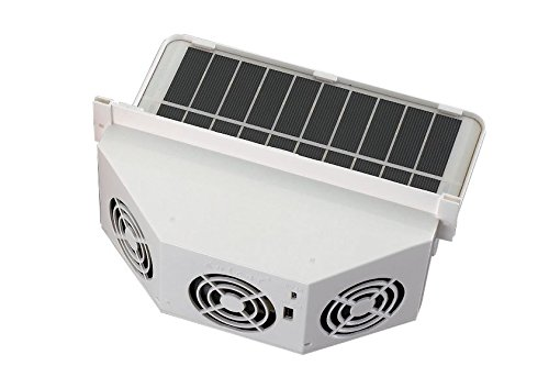 (Kulcar3 solar ventilator,car window air fan, solar car cooler,Pet wood house cooling and ventilator)