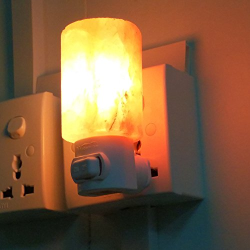 Crystal Himalayan Salt Lamp Night Llight