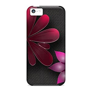 High Quality Flowers Tpu Case For Iphone 5c