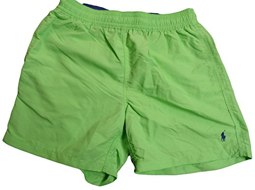 Polo Ralph Lauren Men's Pony Logo Swim Trunks Shorts (M, Nant Lime)