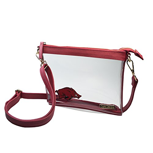 Capri Designs Clear Small Crossbody Bag Stadium Approved - UA Fayetteville