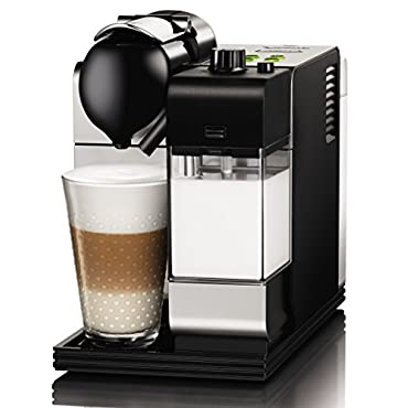 DeLonghi Lattissima Nespresso Silver Capsule Espresso and Cappuccino Machine