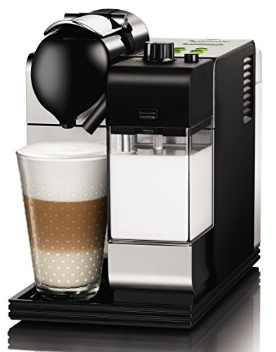 DeLonghi Lattissima Nespresso Silver Capsule Espresso and Cappuccino Machine by DeLonghi