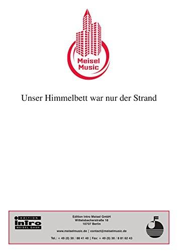 Unser Himmelbett war nur der Strand: as performed by G.G. Anderson, Single Songbook