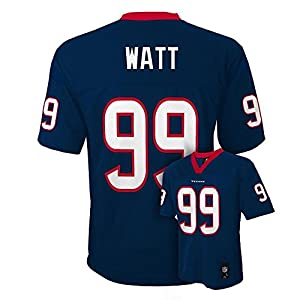 J.J. Watt Houston Texans Navy Blue NFL Toddler 2015-16 Season Mid-tier Jersey