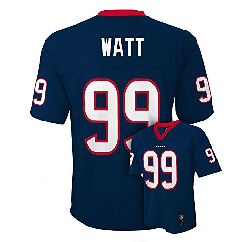J.J. Watt Houston Texans NFL Kids Navy Home Mid-tier Jersey – DiZiSports Store