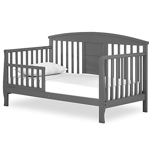 Dream On Me Dallas Toddler Day Bed, Steel Grey (On Bed Me Dream Storage)
