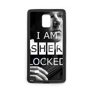 Samsung Galaxy S4 Phone Cases Black Sherlock CWQ167749