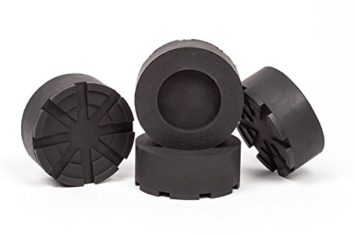 4-Pack of Anti-Vibration and Anti-Walk Isolation Pads Heavy Duty Rubber for Washer and Dryer - Pedestal Table Feet