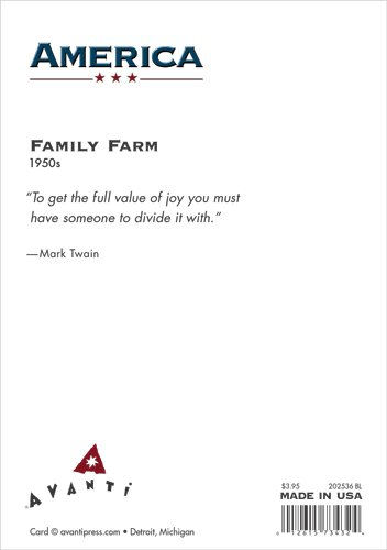 Avanti Press Historic America Blank Notecards, Family Farm, 10-Count - 32046 by Avanti Press (Image #1)